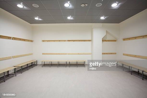 empty dressing room - locker room stock pictures, royalty-free photos & images