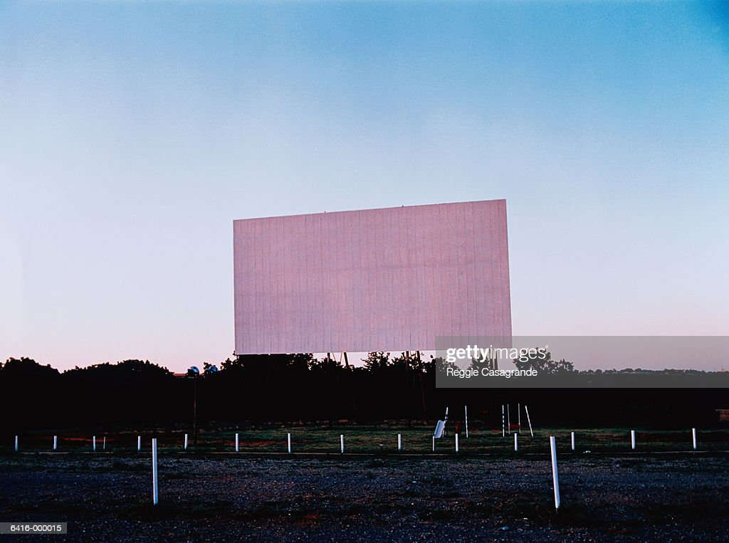 Empty Drivein Theater High Res Stock Photo Getty Images