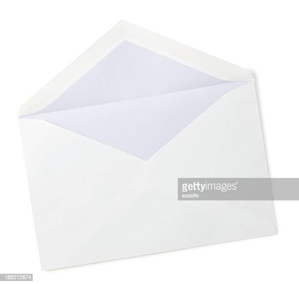 empty envelope - envelope stock pictures, royalty-free photos & images
