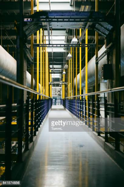 Leere Fabrik Flur