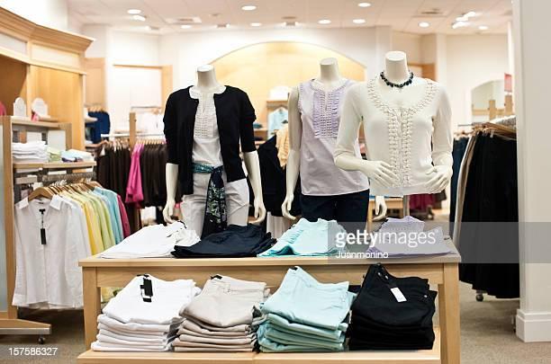 Empty female boutique