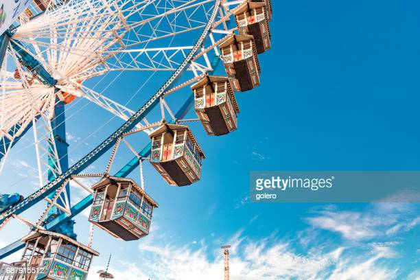 empty ferris wheel at Oktoberfest in Munich