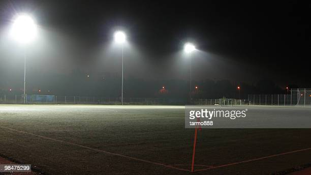 Empty Football (Soccer) Field