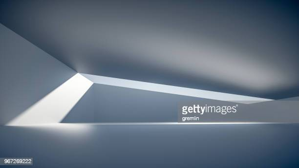 empty futuristic space - glass ceiling stock pictures, royalty-free photos & images