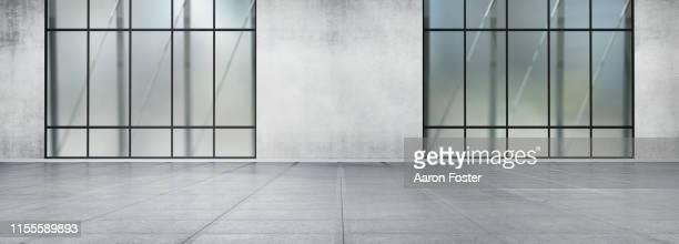 empty gallery space - image stock-fotos und bilder