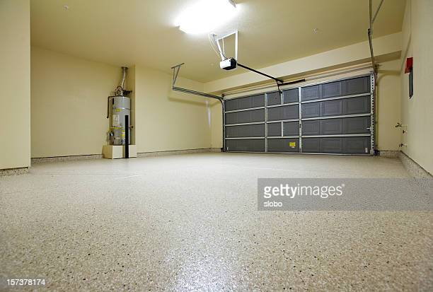 empty garage - garage stock pictures, royalty-free photos & images