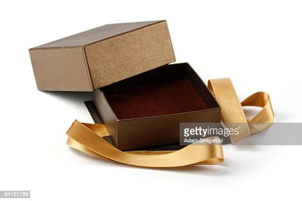 vazio caixa de presente - caixa de joias - fotografias e filmes do acervo