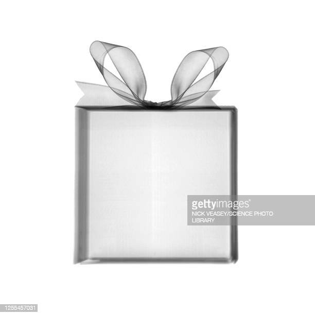 empty gift box, x-ray - gift stock pictures, royalty-free photos & images