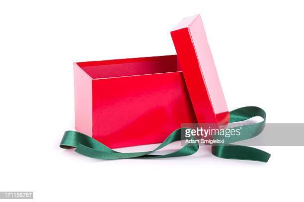 Leere Geschenk-Boxen