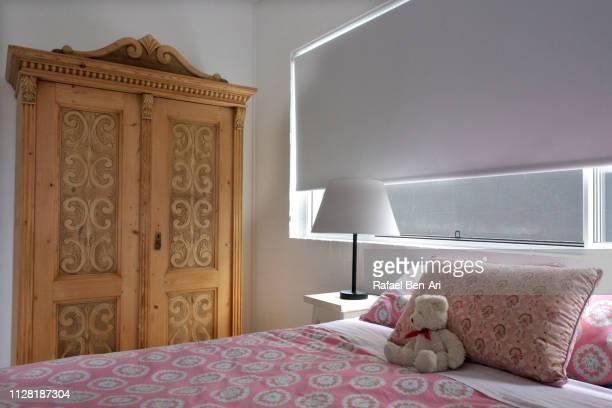 Empty girl bedroom