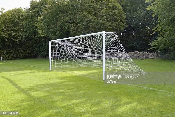 Empty goal net