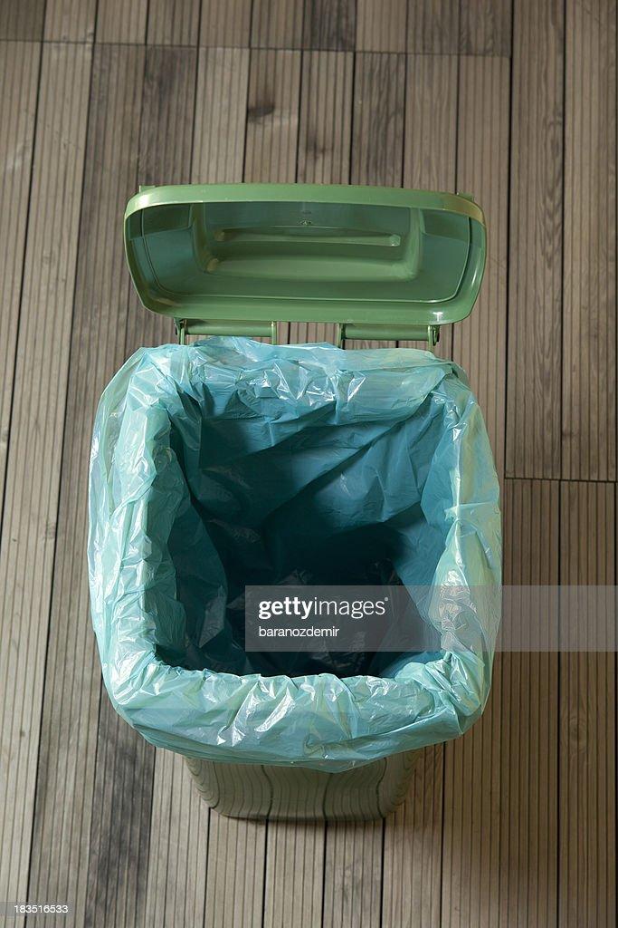 Verde puede poner verde vacío : Foto de stock
