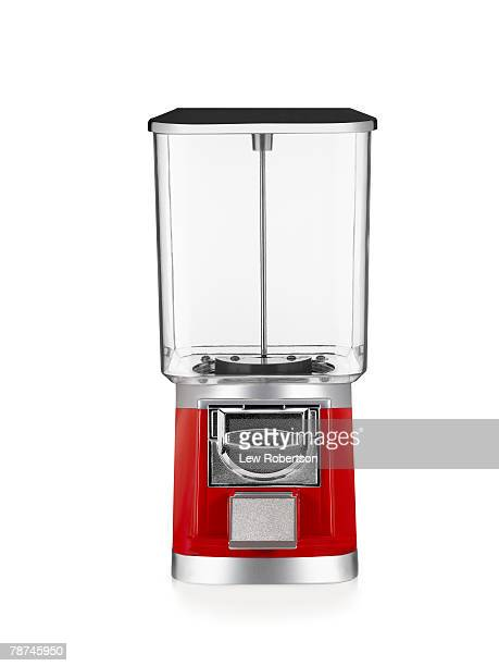 empty gumball machine - gumball machine stock pictures, royalty-free photos & images