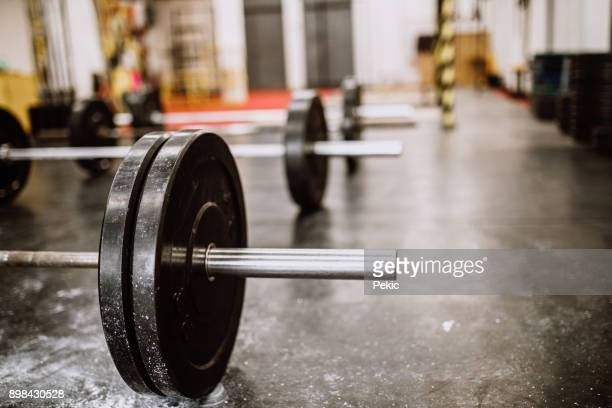 empty gym - weight stock pictures, royalty-free photos & images