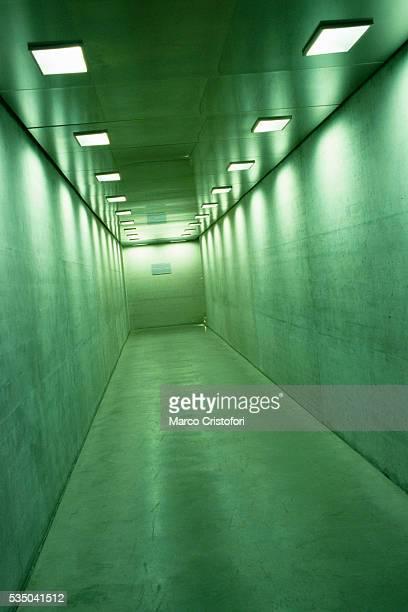 Empty Hallway at Jewish Museum in Vienna
