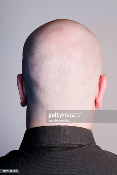 Empty Head on Grey