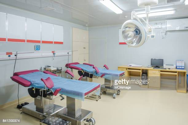 Empty Hospital Delivery Room