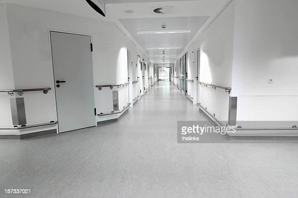 Leere hospital Etage