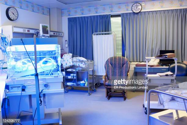 Empty hospital nursery
