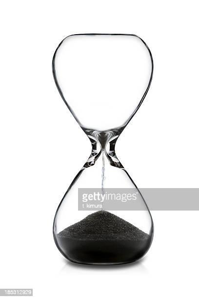 Reloj de arena vacía