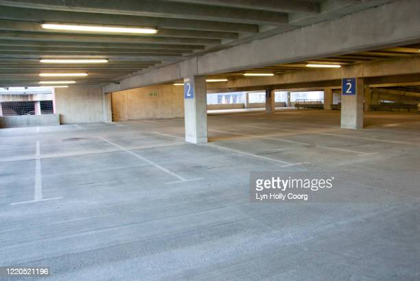 empty indoor carpark - lyn holly coorg stock pictures, royalty-free photos & images