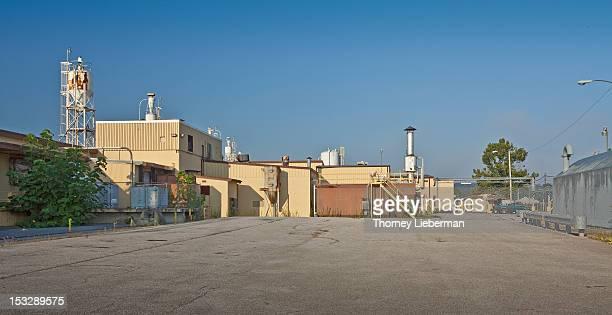 Empty industrial facility