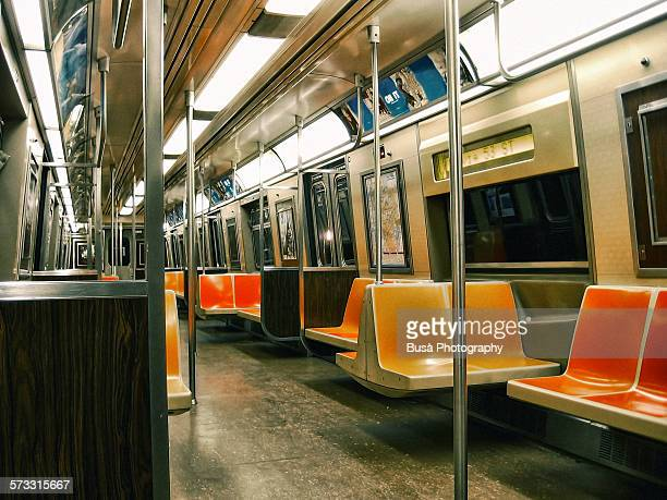 empty interior - subway stock pictures, royalty-free photos & images