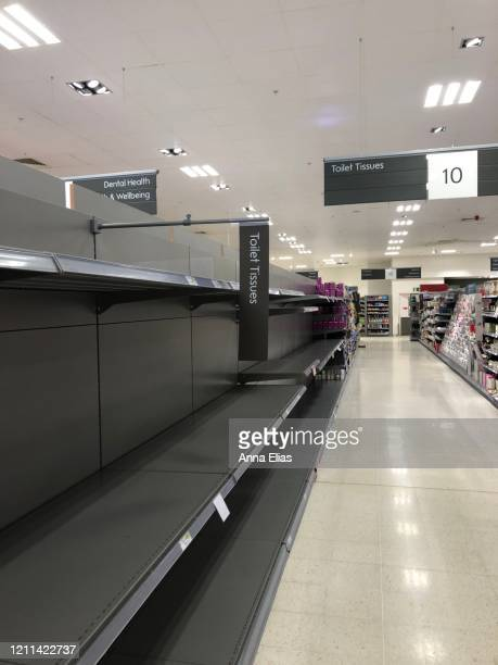 empty isles in the supermarket - sparse stock pictures, royalty-free photos & images