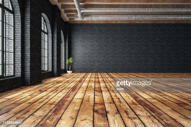 empty large warehouse - domestic room stock pictures, royalty-free photos & images