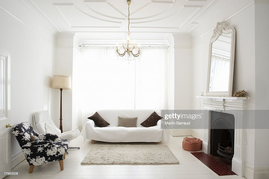 Empty living room : Stock Photo