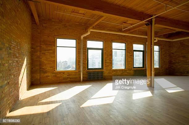 empty loft - loft stock photos and pictures