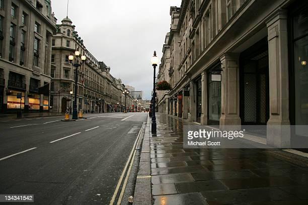 Empty London: Regent Street