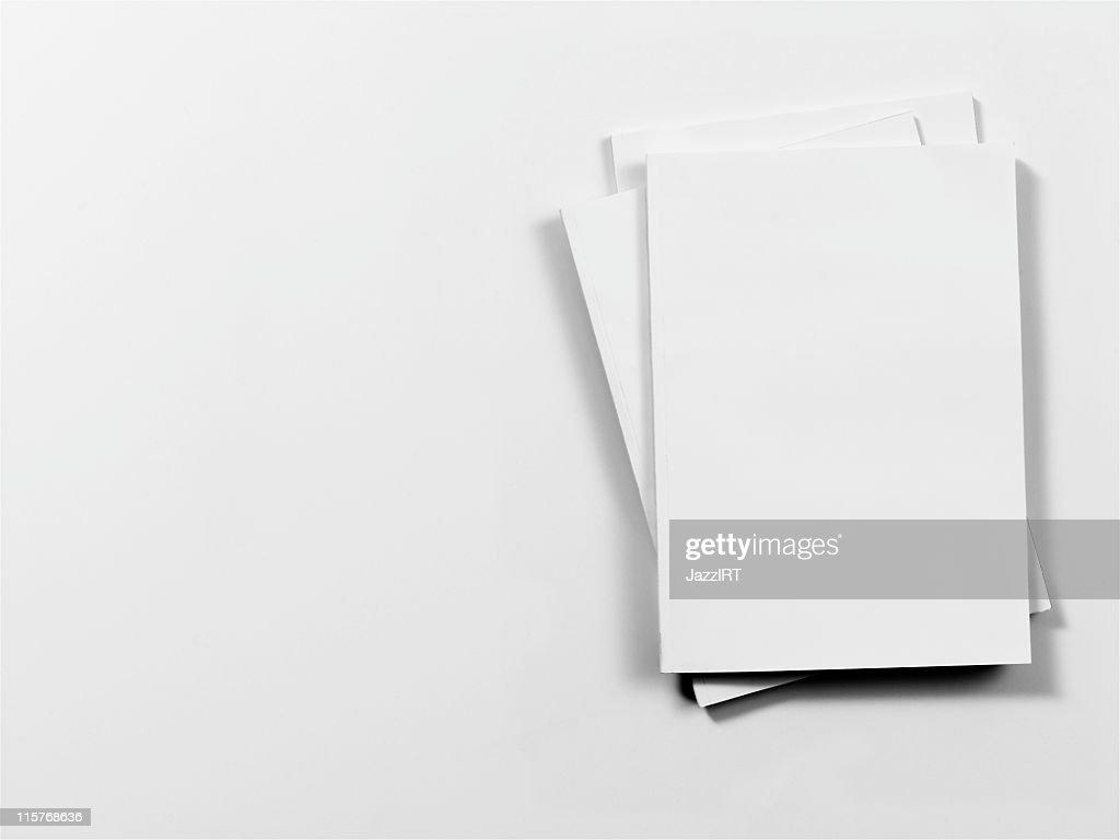 Empty magazine cover : Stock Photo