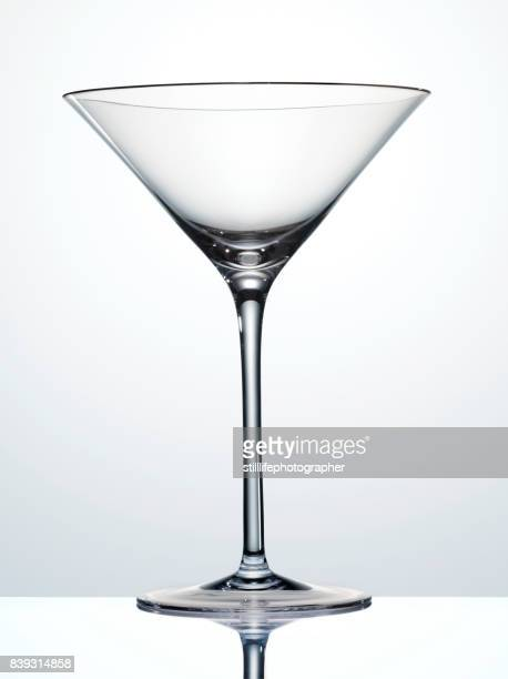 empty martini glass - martini glass stock pictures, royalty-free photos & images