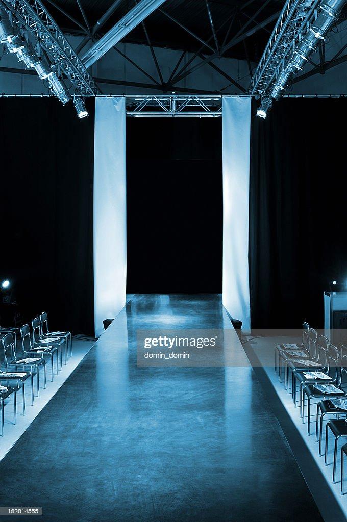 Empty model catwalk : Stock Photo