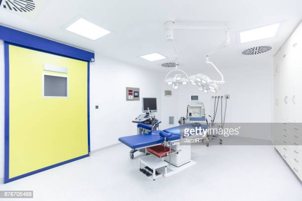 Empty Modern Delivery Room