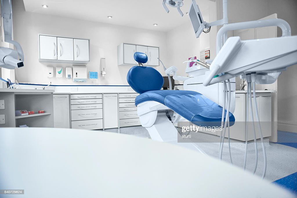 empty modern dentist room : Stock Photo