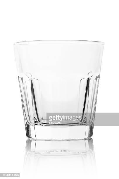 Empty Modern Drinking Glass Tumbler