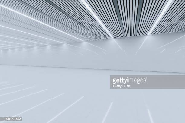 empty modern interior background - parking stock pictures, royalty-free photos & images