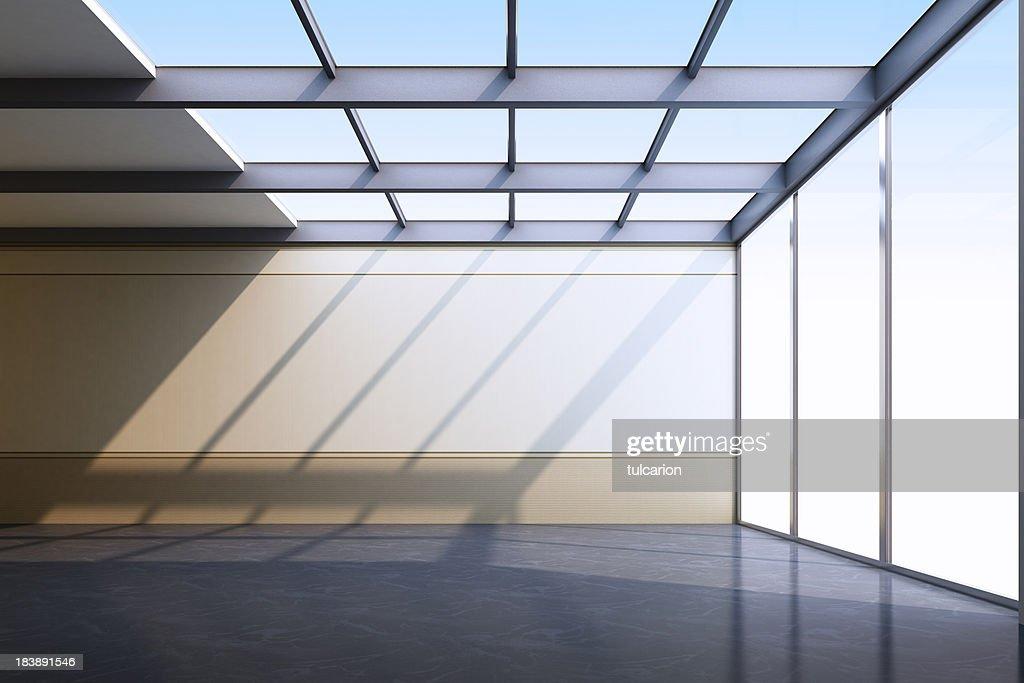 Empty Modern Interior : Stock Photo