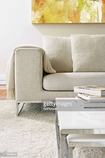 Leere moderne Wohnzimmer