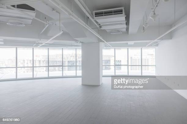 Empty modern office interior