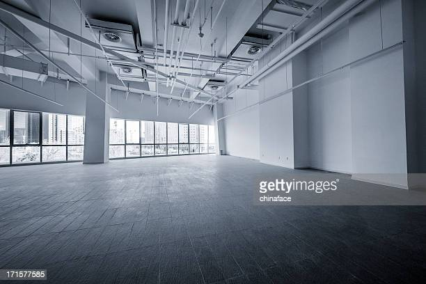 empty modern office - ceiling stock pictures, royalty-free photos & images