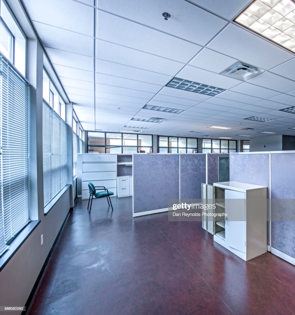 Empty Modern Office Space for Rent : Stock Photo