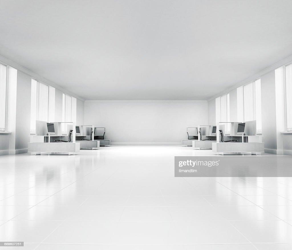 Empty neat office : Stock Photo