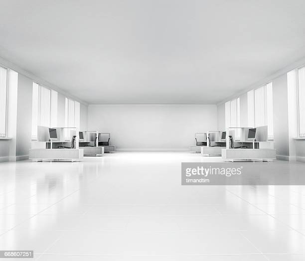 Empty neat office