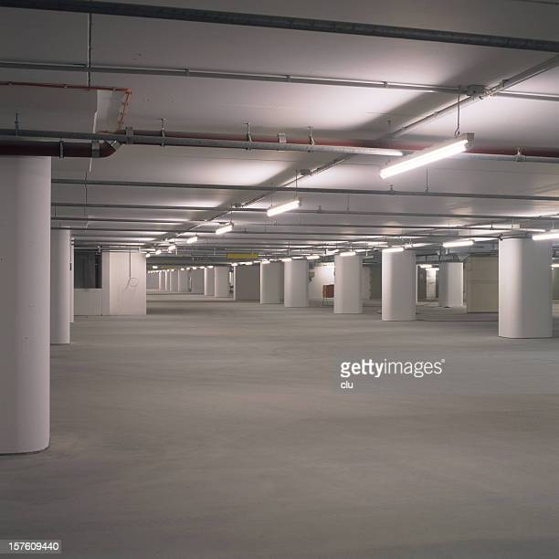 empty new parking lots - empty lot night stock pictures, royalty-free photos & images