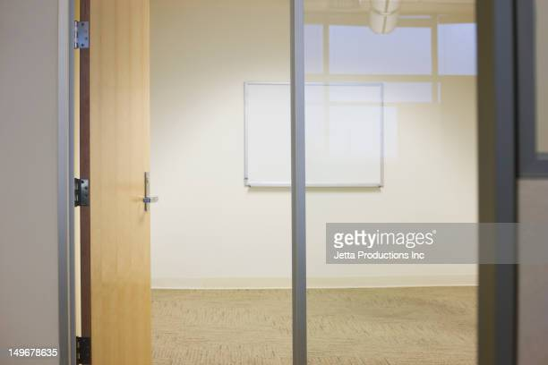 Empty office conference room