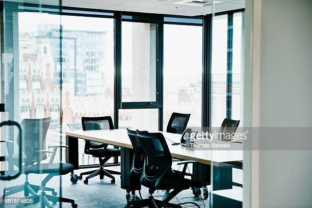 empty office conference room - empty office stock pictures, royalty-free photos & images