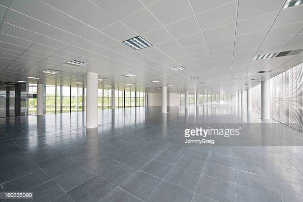 empty office floor - ceiling stock pictures, royalty-free photos & images